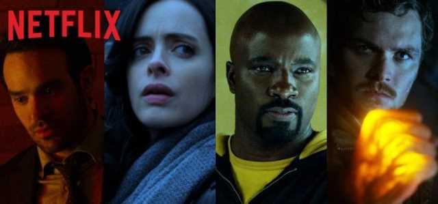 The Defenders Daredevil Jessica Jones Luke Cage Iron Fist Put