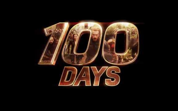 100 days teaser - Vingadores: Guerra Infinita
