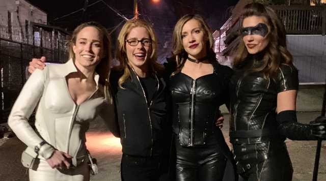 ARROW: Three Canaries Unite In New Photos From Season 7