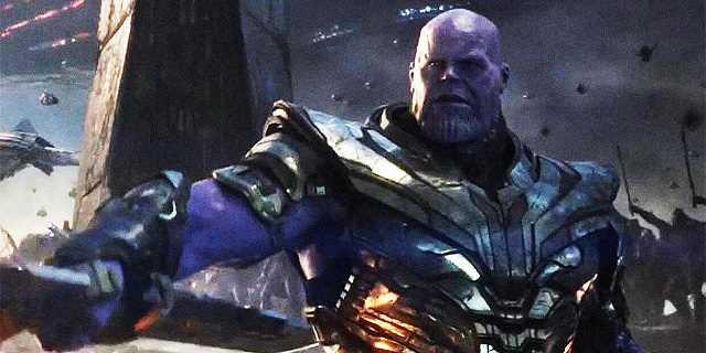Thanos - The Avengers: Endgame