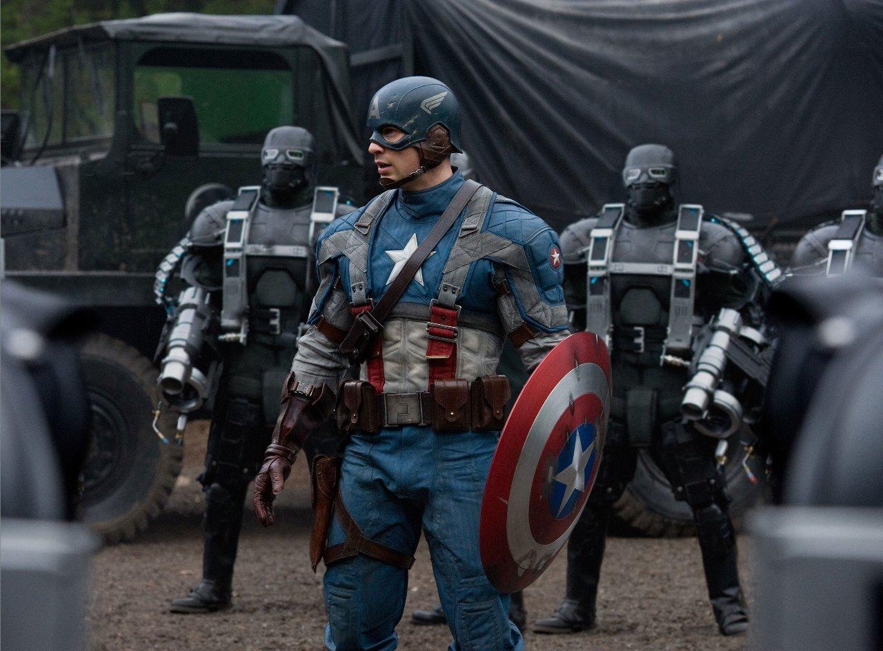 Hi-Res Captain America Pic