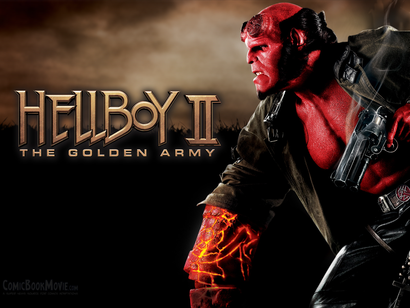 CBM Hellboy II Wallpaper 2