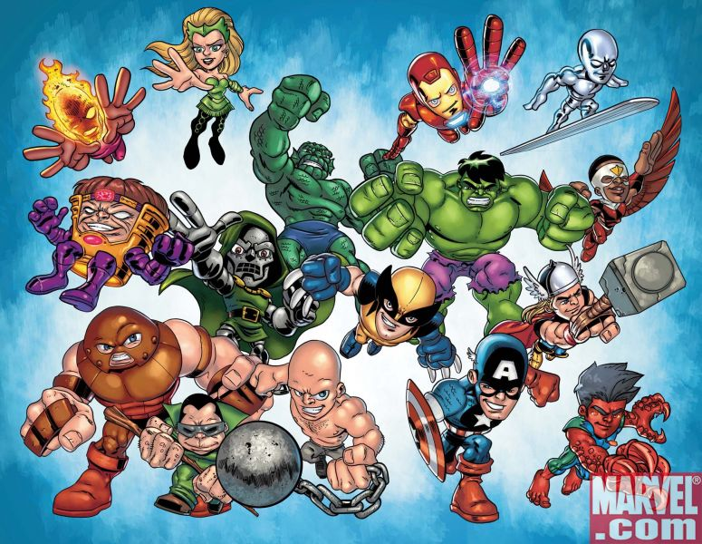 Other Superhero Squad Wallpaper