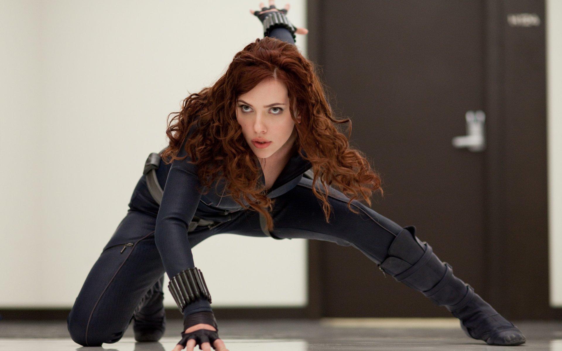 Iron Man 2 Black Widow Wallpaper - Iron Man 2 Black Widow